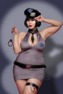 Костюм полицейской Police Dress (Obsessive)